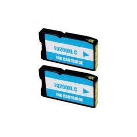 Compatible Lexmark 200XL Cartucho de Tinta Cian