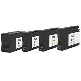 Remanufacturados HP 953XL Pack 4 Cartuchos de Tinta Genericos