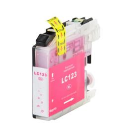 Compatible Brother LC123 Cartucho de Tinta Generico V3 Magenta