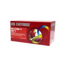 Pack 10 Cartuchos de Tinta Brother LC-123 LC-121 Compatible