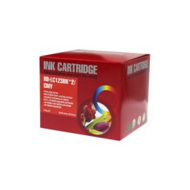 Multipack Brother LC-123 LC-121 Compatible 5 Cartucho de Tinta Compatible