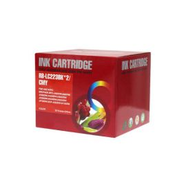 Pack 5 Cartucho de Tinta Brother LC223 LC221 Compatible