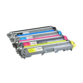 Pack 4 Colores Toner Brother TN-241 + TN-245 Compatible