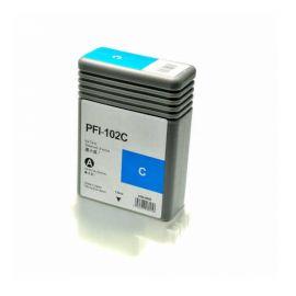 Compatible Canon PFI102 Cartucho de Tinta Genérico Cian