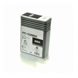 Compatible Canon PFI102 Cartucho de Tinta Pigmentada Negro Mate