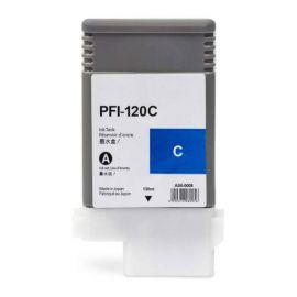 Compatible Canon PFI120 Cartucho de Tinta Pigmentado Cian