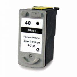 Remanufacturado Canon PG-40 Cartucho de Tinta Generico Negro