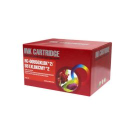 Compatible Canon CLI551 + PGI550 Pack 10 Cartucho de Tinta