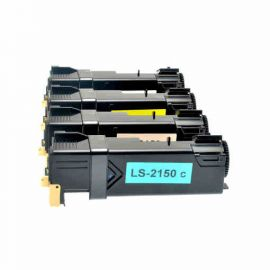 Compatible Dell 2150 Pack 4 Colores Toner Generico