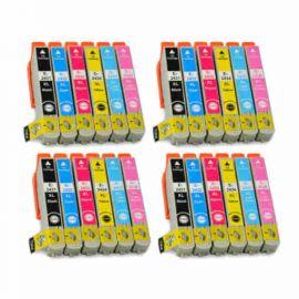 Compatible Epson 24XL Pack 24 Cartucho de Tinta Genericos