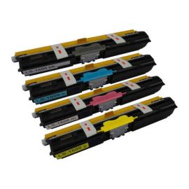 Compatible Epson C1600 CX16 Pack 4 Colores Toner Cartucho Genérico