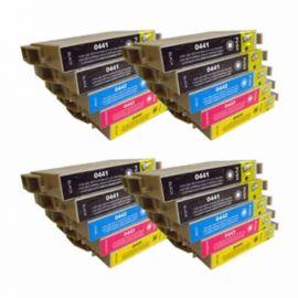 Pack 20 Cartucho de Tinta Compatible Epson T0441 T0442 T0443 T0444