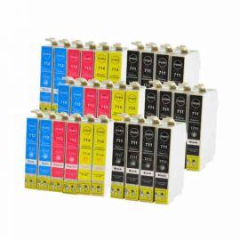 Pack 30 Cartucho de Tinta Epson T0715 Compatible