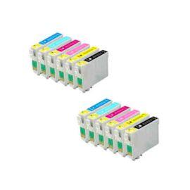 Epson T0791 T0792 T0793 T0794 T0795 T0796 Cartucho de Tinta Pack 12