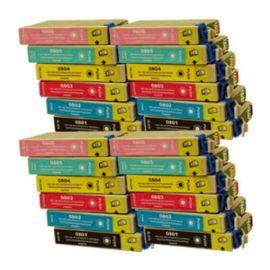 Pack 24 Cartucho de Tinta Epson T0807 Compatible