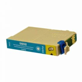 Cartucho de Tinta Epson T0802 Compatible Cian