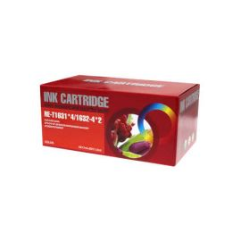 Pack 10 Cartuchos de Tinta Epson T1635 Compatible (16XL)