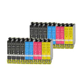 Pack 20 Cartucho de Tinta Epson T1816 Compatible 18XL