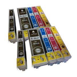 Pack 10 Cartucho de Tinta Epson 26XL Compatible