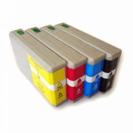 Pack 4 Colores Cartucho de Tinta Epson T7011 T7012 T7013 T7014 Compatible