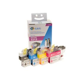 Compatible G&G Brother LC3211 LC3213 V2 Multipack Cartuchos de Tinta Genericos