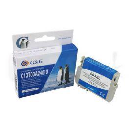 Compatible G&G Epson 603XL Cartucho de Tinta Cian