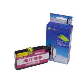 Compatible G&G HP 711XL Cartucho de Tinta Generico Magenta CZ131A