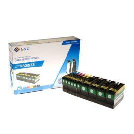 Compatible G&G HP 932XL + 933XL MultiPack 10 Cartuchos de Tinta Genericos