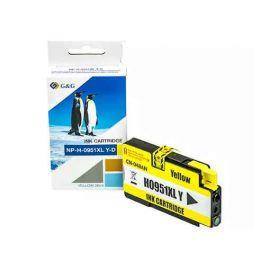 Compatible G&G HP 951XL Cartucho de Tinta Generico Amarillo