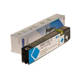 Compatible G&G HP 971XL Cartucho de Tinta Pigmentada Generico Cian