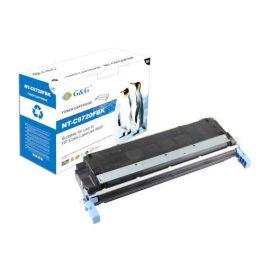 Compatible G&G HP C9720A Cartucho de Toner Generico Negro Nº641A