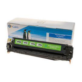 Compatible G&G HP CB541A CE321A CF211X Cartucho de Toner Generico Cian