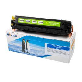 Compatible G&G HP CB542A CE322A CF212X Cartucho de Toner Generico Amarillo