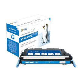 Compatible G&G HP Q6471A Toner Generico Cian Nº502A