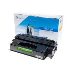 Compatible G&G HP Q5949X Q7553X Toner Generico Negro Nº53X Nº49X