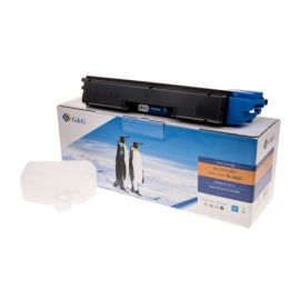 Compatible G&G Kyocera TK580 Toner Generico Cian