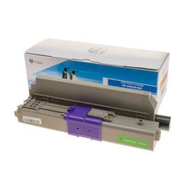 Compatible G&G OKI C301 C321 MC342 Toner Generico Negro