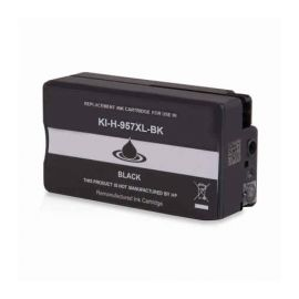 Remanufacturado HP 957XL Cartucho de Tinta Pigmentado Generico Negro