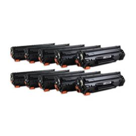 Compatible HP CB435A CB436A CE285A MultiPack 10 Toner Generico Universal