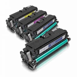 HP CE400X CE401A CE402A CE403A Toner Genérico Pack 4 Colores