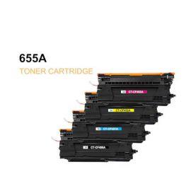 Compatible HP CF450A CF460X CF470X Pack 4 Colores Toner Generico