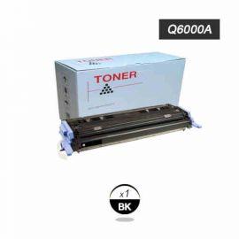 Compatible HP Q6000A Toner Generico Negro Nº124A