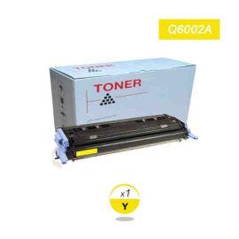 Compatible HP Q6002A Toner Generico Amarillo Nº124A