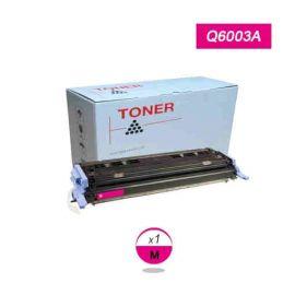 Compatible HP Q6003A Toner Generico Magenta Nº124A