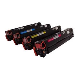 Compatible HP CB540A CE320A CF210X Pack 4 Colores Toner Generico