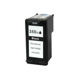 Cartucho de Tinta HP 350XL Remanufacturado Negro