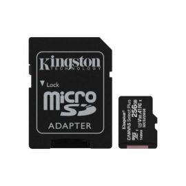 Kingston Tarjeta Micro SDXC 256GB Clase 10 100MB/s Canvas Select Plus + Adaptador SD