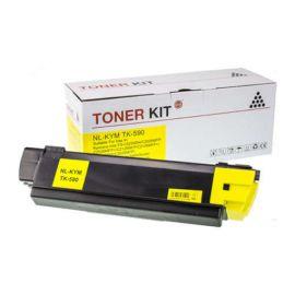 Compatible Kyocera TK590 Toner Generico Amarillo