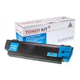 Compatible Kyocera TK590 Toner Generico Cian