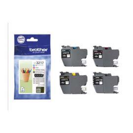 Brother LC3217 Pack 4 Cartuchos de Tinta Originales